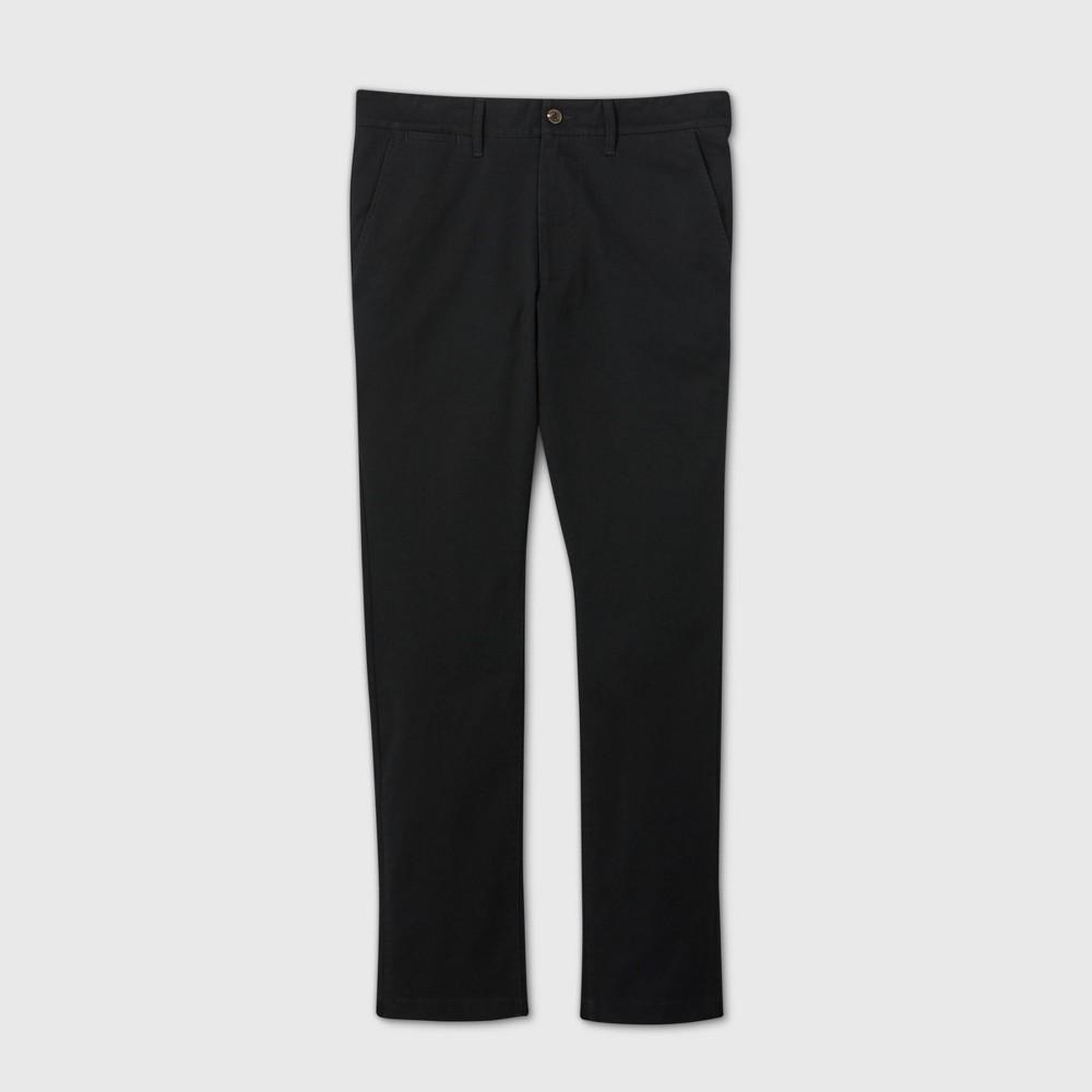 Men 39 S Skinny Fit Chino Pants Goodfellow 38 Co 8482 Black 42x30