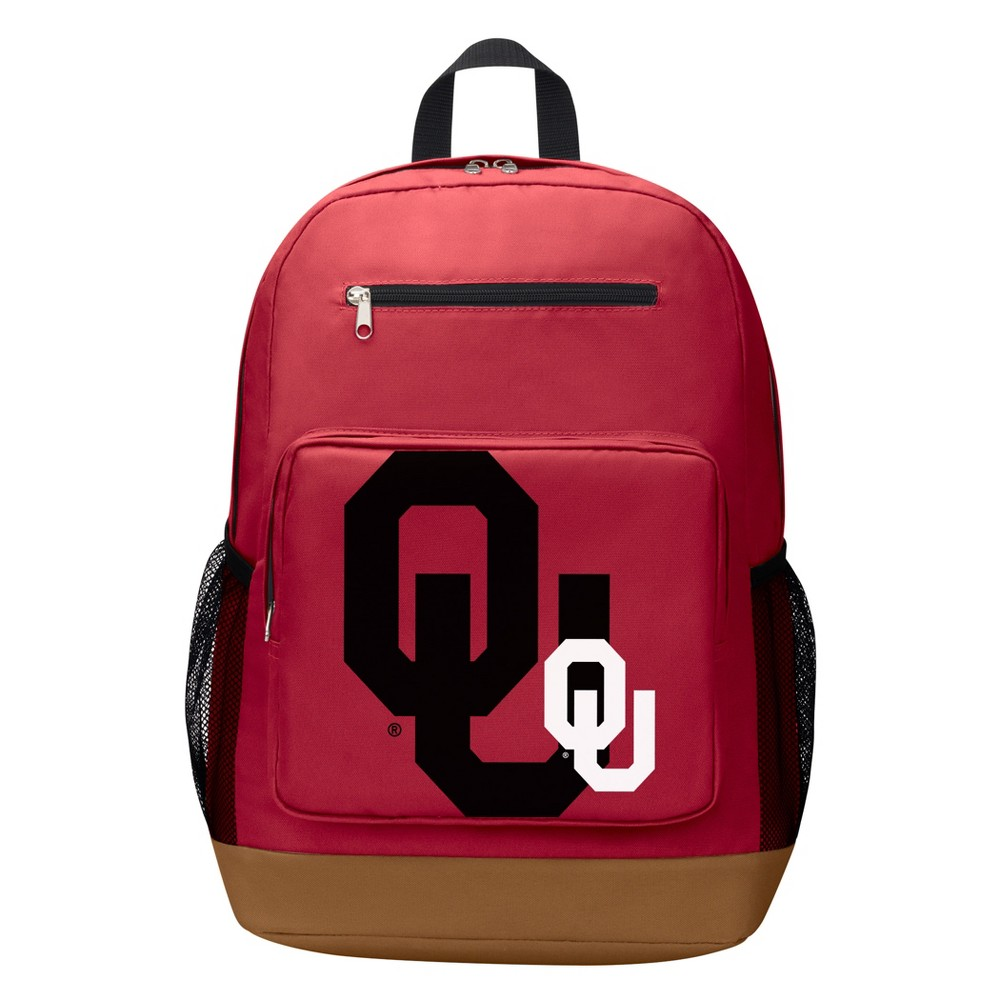 NCAA Oklahoma Sooners Playmaker Backpack, Multi-Colored