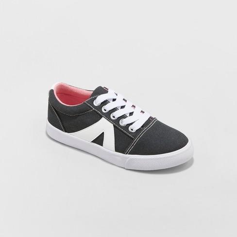 Girls' Frossa Sneakers - Cat & Jack™ Black - image 1 of 3