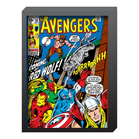 "Marvel Avengers 15""x20"" Comic Book Wall Dcor - image 1 of 1"