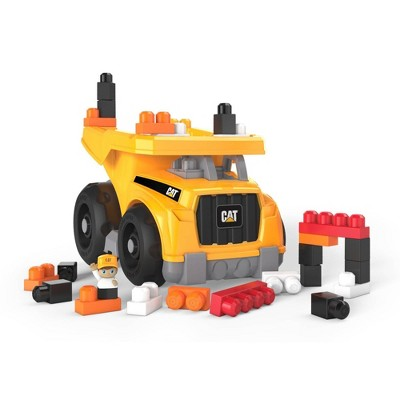 Mega Bloks CAT Large Dump Truck Construction Set