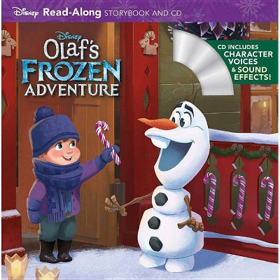 Olaf's Frozen Adventure - (Read-Along Storybook and CD) (Mixed Media Product)