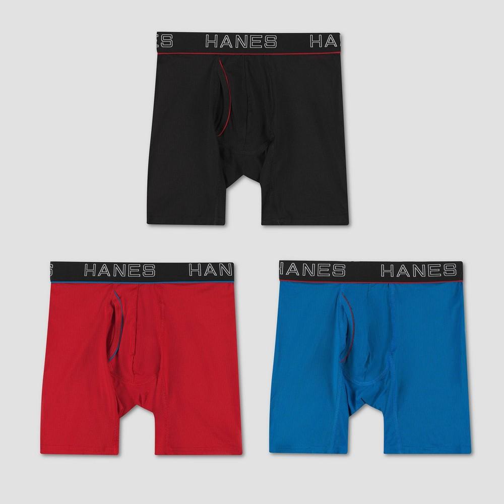Hanes Men 39 S Comfort Flex Fit Boxer Briefs 3pk Colors May Vary S