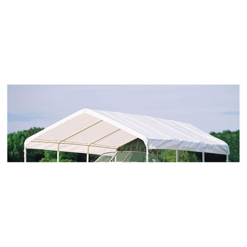 Canopy Replacement Cover Fits 2 Frame 12 X 20 White