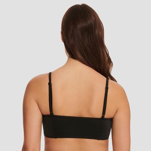 36ec219e04d25 Women s Slimming Control Longline Bikini Top - Beach Betty By Miracle  Brands Black XL   Target
