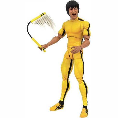 Game of Death Bruce Lee Select Bruce Lee Action Figure [Yellow Jumpsuit] - image 1 of 2