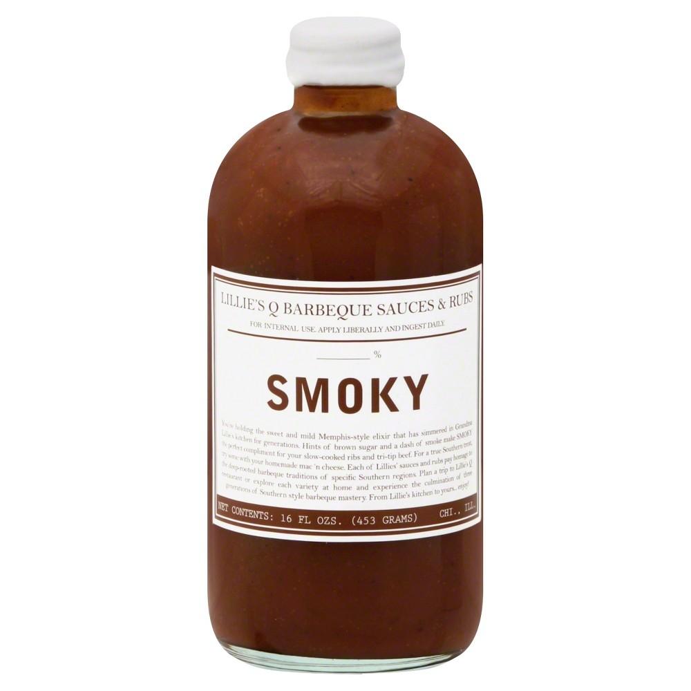 Lilie's Q Smoky Bbq - 16oz