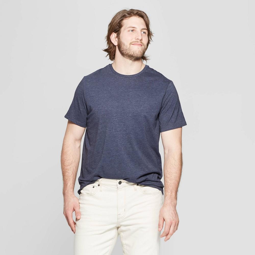 Men 39 S Big 38 Tall Standard Fit Lyndale Short Sleeve Crew Neck T Shirt Goodfellow 38 Co 8482 Jamestown Blue 5xb