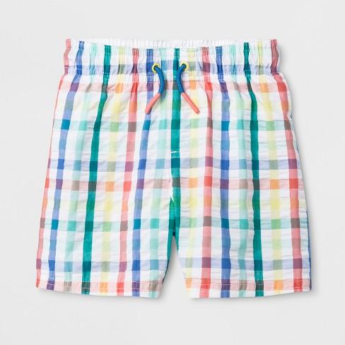 78f61b8b72 Toddler Boys' Swim Trunks - Cat & Jack™ White : Target
