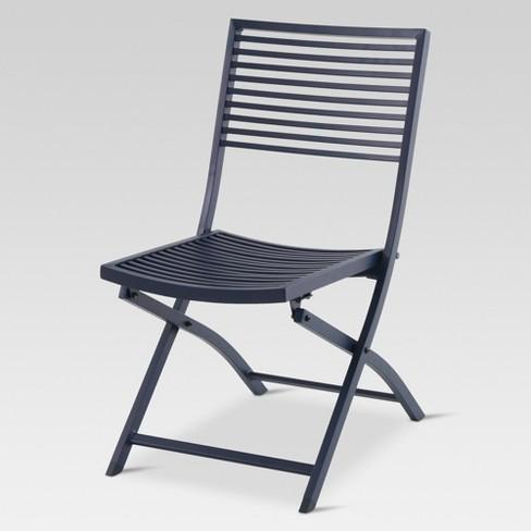 Aluminum Slat Folding Patio Bistro Chair Project 62