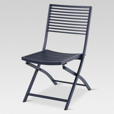 Genial Aluminum Slat Folding Patio Bistro Chair   Project 62™