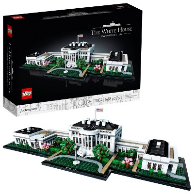 LEGO Architecture Collection: The White House Model Building Kit for Adults 21054
