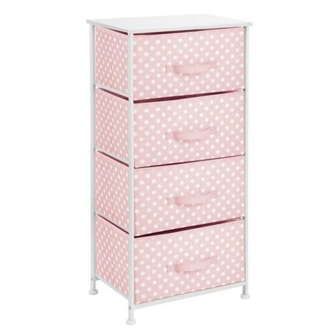mDesign Fabric 4-Drawer Closet Storage Organizer Furniture Unit - image 1 of 3