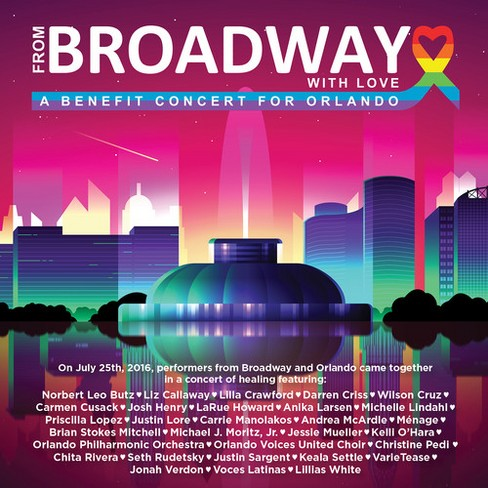 Various - From Broadway With Love:Benefit Conce (CD) - image 1 of 1