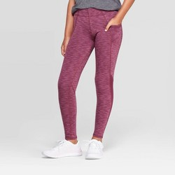 Girls' Cozy Performance Leggings With Pockets - C9 Champion®