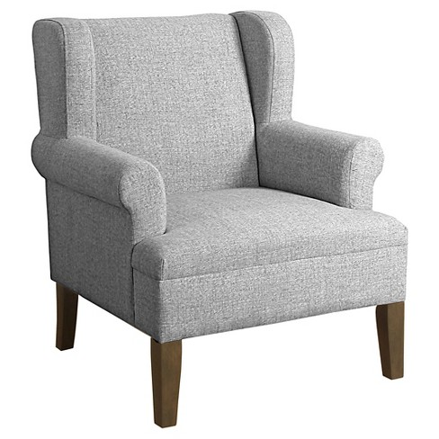 Emerson Wingback Accent Chair - HomePop - image 1 of 3