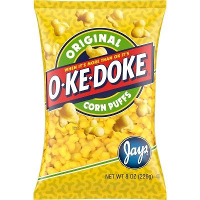 O-Ke-Doke Corn Puffs - 8oz