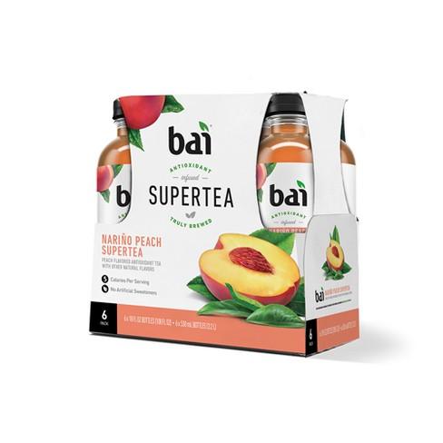 Bai Narino Peach Super Tea- 6pk/18 fl oz Bottles - image 1 of 2