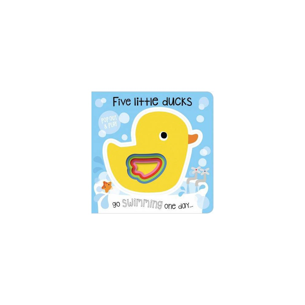 Pop-out and Play Five Little Ducks - (Pop Out and Play) (Hardcover)