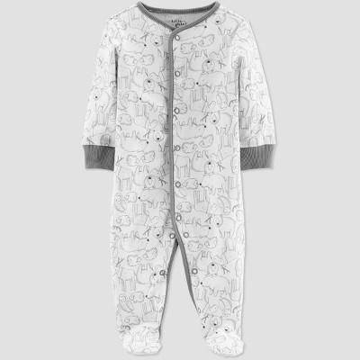 Little Planet Organic by Carters Baby Boys' Animal Sleep N' Play - Blue Preemie