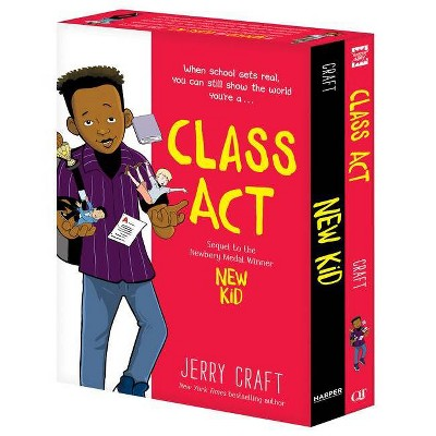 New Kid and Class Act: The Box Set - by Jerry Craft (Paperback)