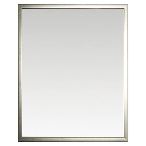 Rectangle Reflect Beveled Decorative Wall Mirror Silver - Alpine Art and Miror - image 1 of 1