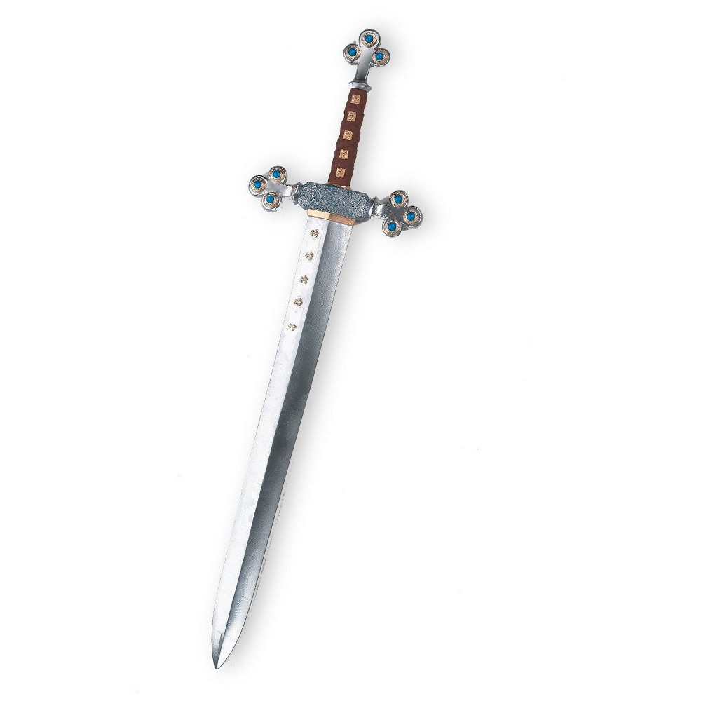 Halloween Lion Knight's Sword Silver - One Size Fits Most