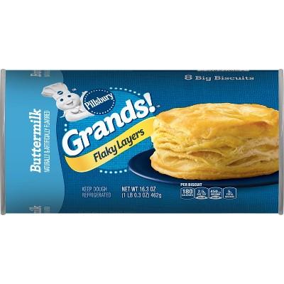 Pillsbury Grands! Flaky Layers Buttermilk Biscuit - 16.3oz/8ct