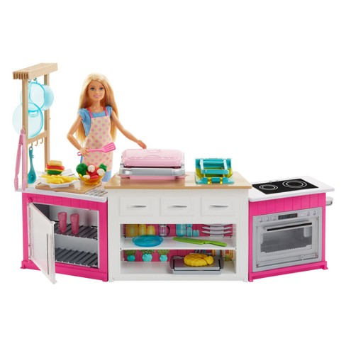 barbie ultimate kitchen playset target - Kitchen Playset