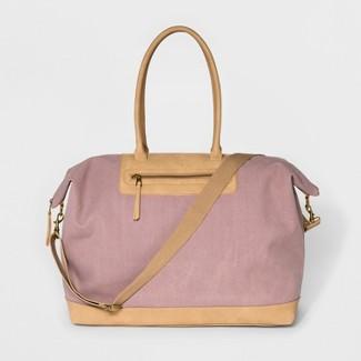 Large Canvas Weekender Bag - Universal Thread™ Blush