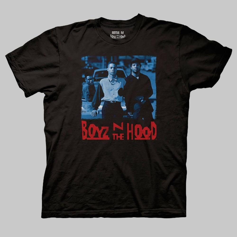 Image of Men's Boyz n the Hood Short Sleeve Graphic T-Shirt - Black 2XL, Men's