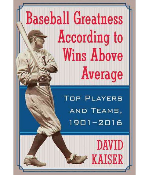 Baseball Greatness : Top Players and Teams According to Wins Above Average, 1901–2017 - image 1 of 1