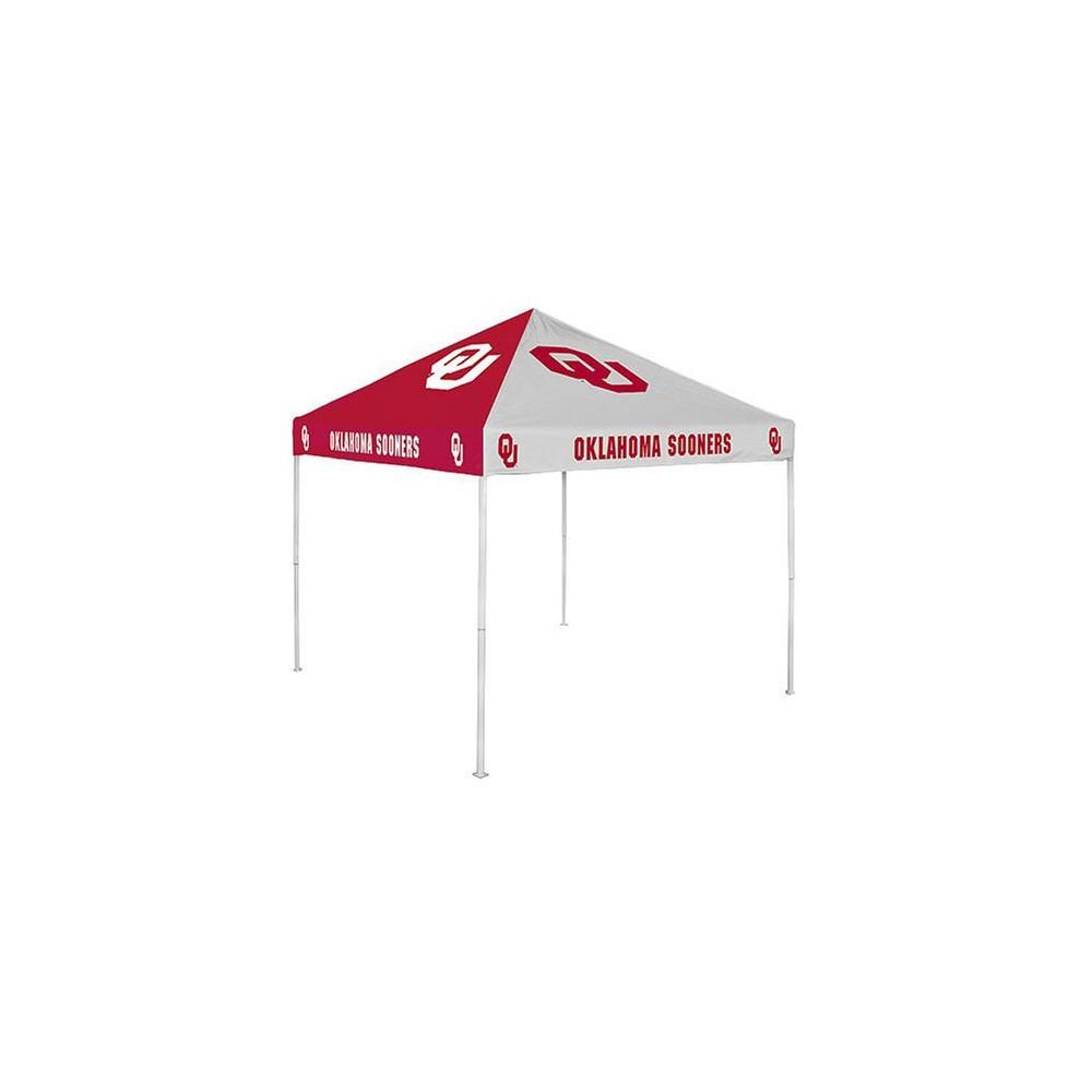 Oklahoma Sooners Checkerboard Canopy Tent