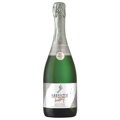 Barefoot Bubbly Brut Sparkling Wine - 750ml Bottle
