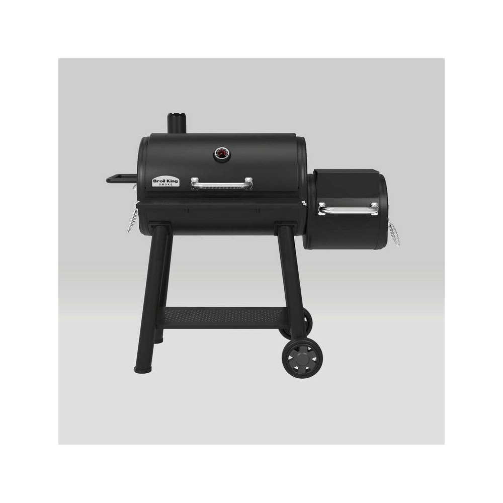 Best Buy Broil King Smoke Offset XL Charcoal Grill Smoker 958050