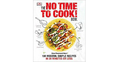 No Time to Cook! Book : 100 Modern, Simple Recipes in 20 Minutes or Less (Hardcover) (Elena - image 1 of 1