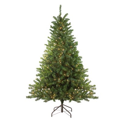 Northlight 6' Prelit Artificial Christmas Tree Canadian Pine - Clear Lights