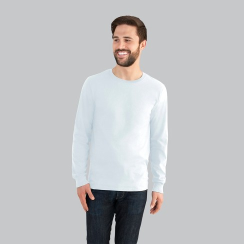 Fruit of the Loom Men's Long Sleeve T-Shirt - image 1 of 1
