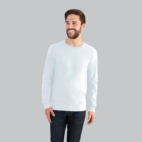 371d7a4baa7 Fruit Of The Loom Men s Long Sleeve T-Shirt   Target