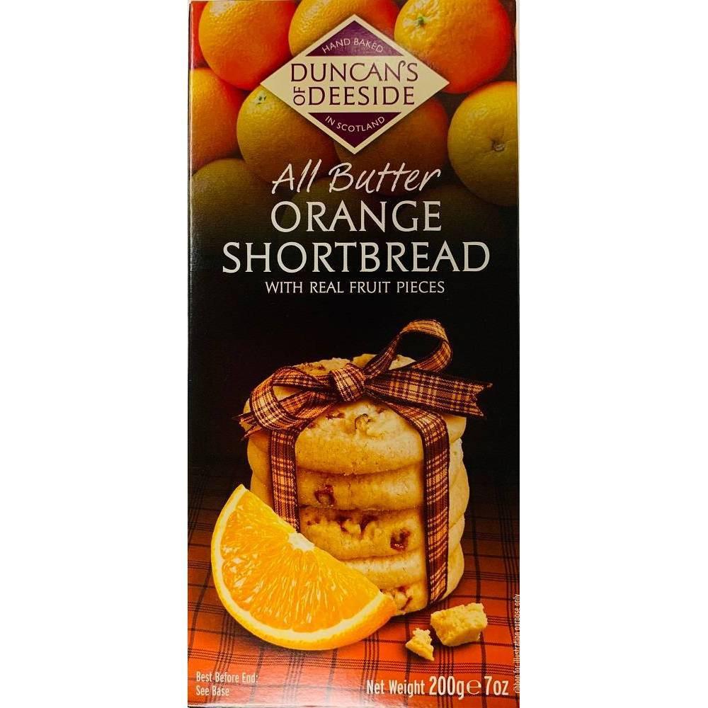 Duncans Orange Shortbread - 8ct/7oz Buy