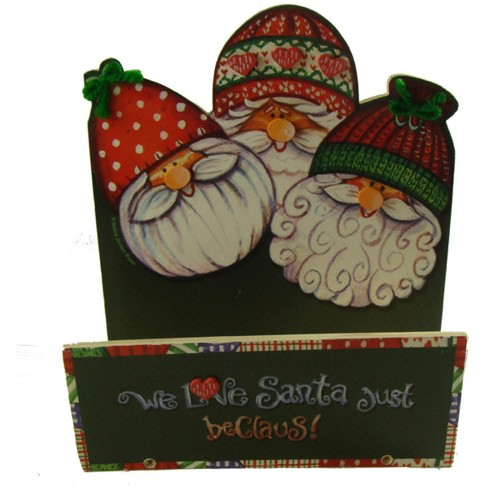 Northlight Club Pack Of 72 Just Beclaus Santa Claus Christmas