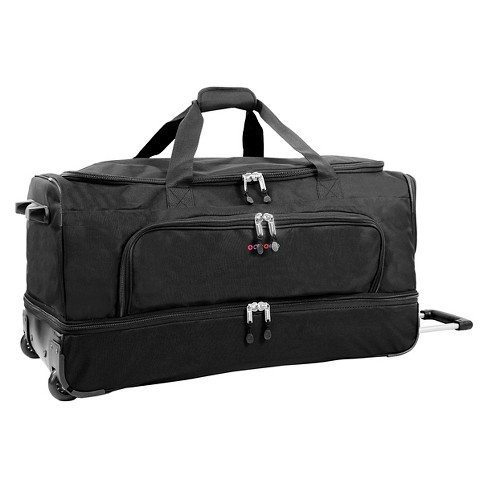 "J World Piton 18.5"" Drop Bottom Duffel Bag - Black - image 1 of 6"
