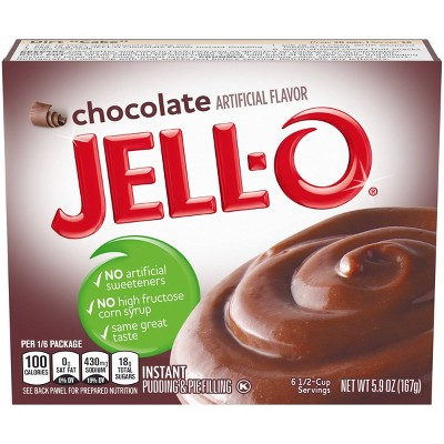 JELL-O Instant Chocolate Pudding & Pie Filling - 5.9oz