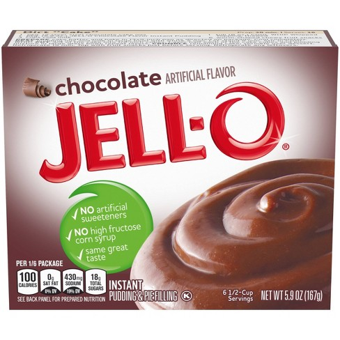JELL-O Instant Chocolate Pudding & Pie Filling - 5.9oz - image 1 of 4