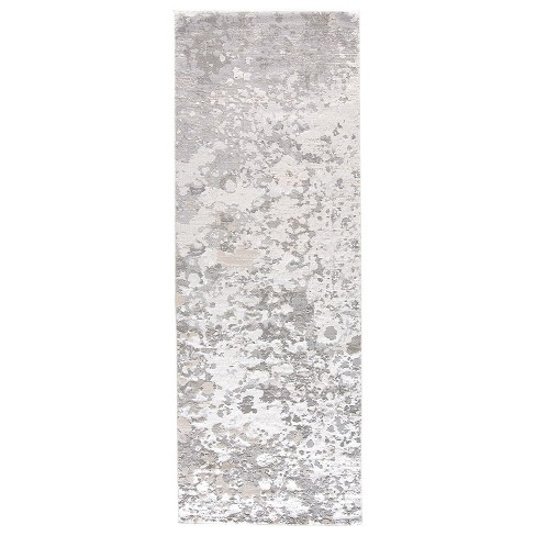 Feizy Micah Contemporary Abstract Gray Area Rug Target