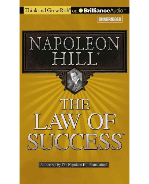 Law of Success (Unabridged) (CD/Spoken Word) (Napoleon Hill) - image 1 of 1