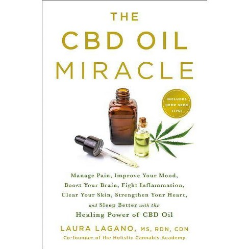 The CBD Oil Miracle - by  Laura Lagano (Paperback) - image 1 of 1