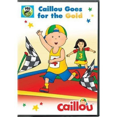 Caillou: Caillou Goes For The Gold (DVD)(2016)