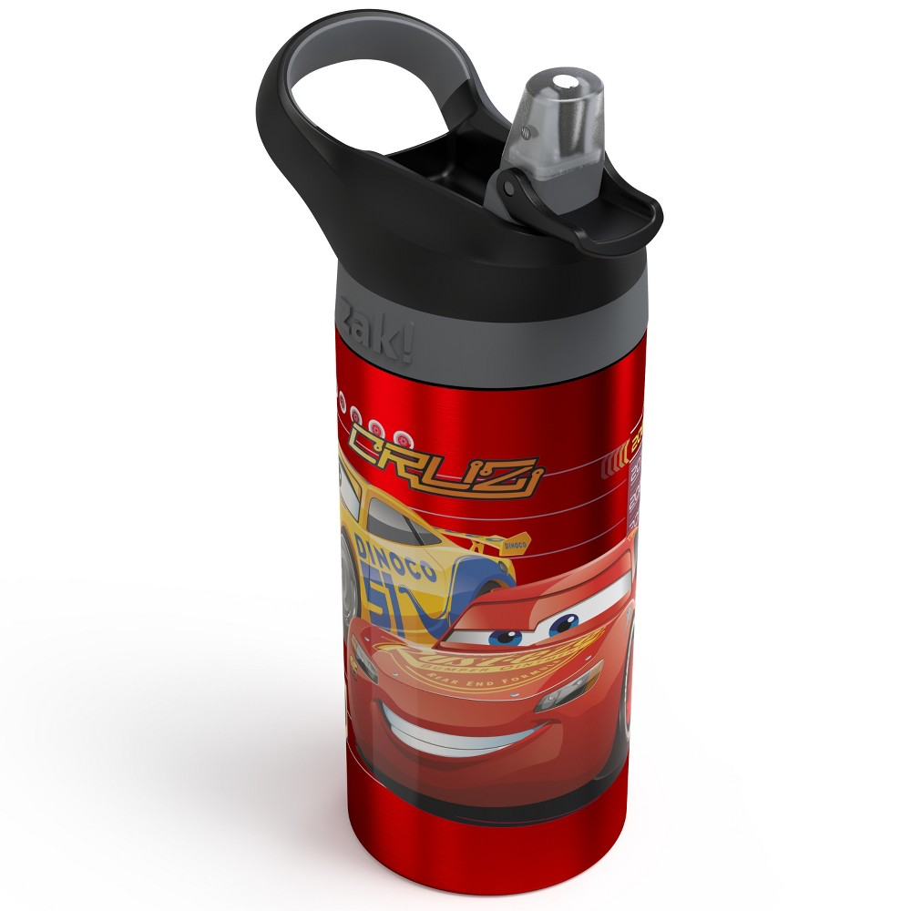 Disney Cars 19.5oz Stainless Steel Water Bottle Red/Black, Blue/Grey