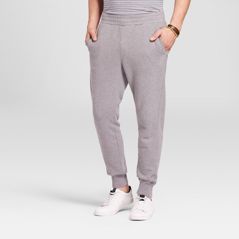 Men's Knit Joggers - Goodfellow & Co™ Heather Gray - image 1 of 3